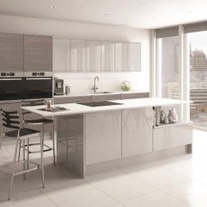 Avola Linea Grey with Image Linea Grey Mist Gloss
