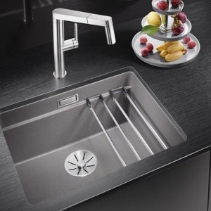 Blanco Etagon 500-U Sink Silgranite Puradur Rock Grey