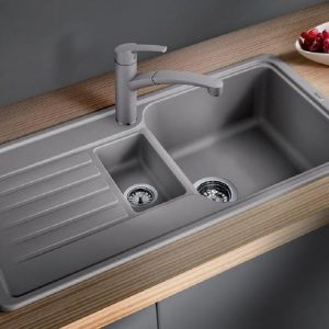Blanco Favos 6S Sink Silgranite alumetallic