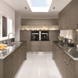 Avola Brown Grey Kitchen
